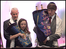 bat mitzvah ceremony video