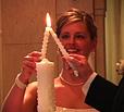 wedding ceremony unity candle video