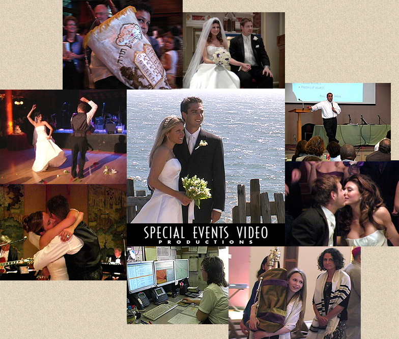 wedding videograpger collage